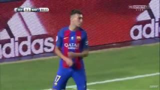 Sevilla 0 Vs 2 Barcelona - Super Cup All Goals & Highlights 2016