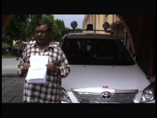 बीएसपी के पूर्व सांसद की दबंगई, व्यापारी की ज़मीन पर किया अवैध कब्ज़ा