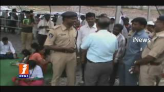 Kurnool Collector and SP Inspects Pushkar Arrangements In Srisailam | iNews