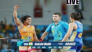 Moments Sakshi Malik Wins Bronze Medal at Rio Olympics : Women's Freestyle 58 Kg Wrestling
