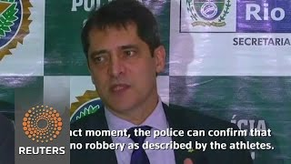 Brazil police accuse U.S. swimmers of vandalism