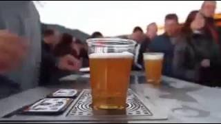Amazing beer glass - Amazing video in the world