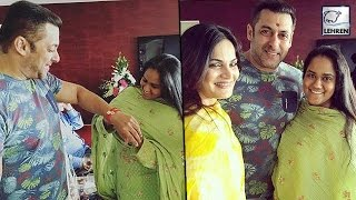 Salman Khan's Raksha Bandhan Celebration With Arpita & Alvira