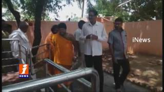 PV Sindhu's Father Special Pooja For Finals Victory | iNews