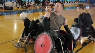 Canada's wheelchair rugby team aiming for gold at Rio