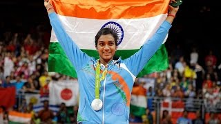 Congratulations P.V. Sindhu for Silver at Rio Olympics 2016