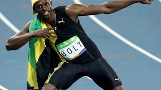 Usain Bolt wins mens 4x100 relay final Rio Olympics 2016