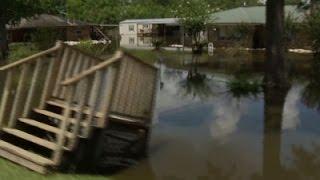 Rescue Crews Going Door-to-Door in Louisiana