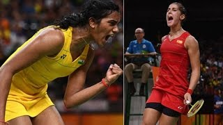Rio Olympics: Sindhu one step away from gold, opponent Carolina no pushover