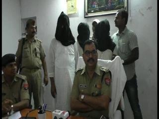 गोरखपुर में अपराध की 4 बड़ी घटनाओं का खुलासा