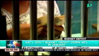 NewsLife National government budget deficit down 46% in January  [04 08 16]