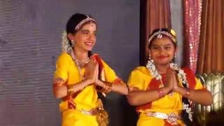 Jaanvi Performing at ISKCON Janmashtami Function