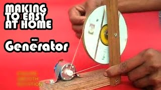 Watch How To Make A Mini Generator At Home Hand Made G Video