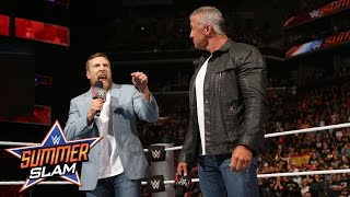 Daniel Bryan and Shane McMahon hype the Barclays crowd: SummerSlam 2016