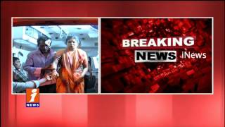 8 Killed at Nayakangudem Khammam   Private Travels Bus Fallen in NSP Canal   iNews