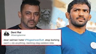 Salman Khan Fans Lash Out At Yogeshwar Dutt After Rio Olympics Loss!
