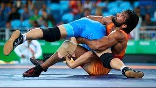 Yogeshwar dutt Shock Defeat in RIO olympics , free style wrestling 65 kgs