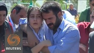 17-year-old victim of Turkey wedding attack buried