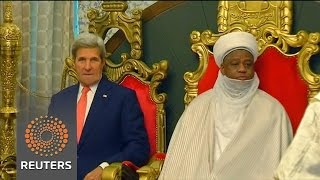 Kerry meets religious leaders in Nigeria