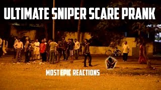 Ultimate Sniper Scare Prank In India - Epic Reactions Captured! - iDiOTUBE