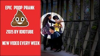 ULTIMATE POOP (POTTY) Prank In India-iDiOTUBE