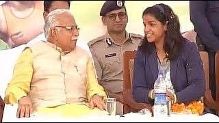 Sakshi Malik new face of 'Beti Bachao Beti Padhao' in Haryana