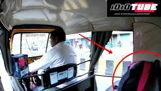 Lost Bag In Auto Rickshaw Social Experiment - iDiOTUBE (Do Not Miss The End)