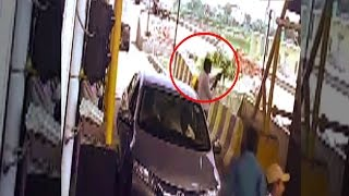 On cam: 5 youths open fire at Tenua toll plaza in Gorakhpur