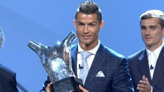 Cristiano Ronaldo - UEFA Best Player in Europe 2015/2016