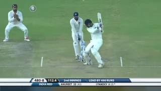 Duleep Trophy 2016-17: India Red vs India Green - Fall of wickets, India Red 2nd Innings