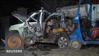 Al Shabaab militants bomb Somali beach restaurant