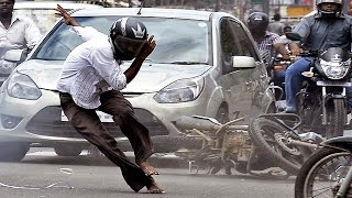 road accidents in india live - be carefull