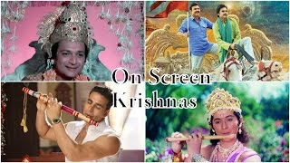 Actors who portrayed lord Krishna on screen