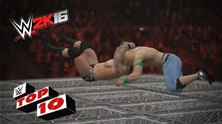RKOs From Outta Nowhere!: WWE 2K16 Top 10