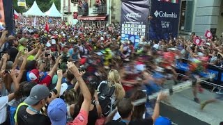 Runners hit the road on gruelling Mont-Blanc Ultra-Trail