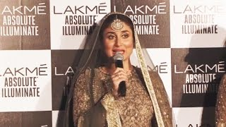 Kareena Kapoor GETS Emotional After Ramp Walk With BABY BUMP At LFW 2016