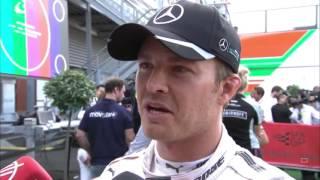 Nico Rosberg  Post Race Interview F1 2016 Belgian Grand Prix