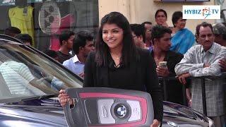 Sachin Tendulkar Presents BMW Car to Sakshi Malik