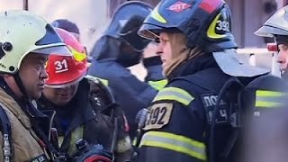 Raw: Aftermath of Deadly Moscow Warehouse Fire