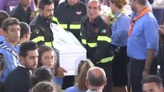 Italy Honors Quake Dead as Search Continues