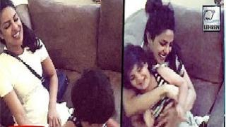 (Video) Priyanka Chopra Having Fun With Baby
