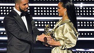 Drake Makes Rihanna Blush at the VMAs