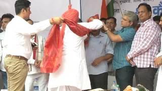 CM Arvind Kejriwal Innaugrated Development Work of roads/streets in Najafgarh