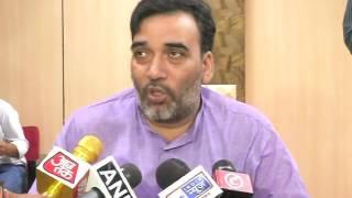 Employment Minister Gopal Rai briefs Media on Upcoming Shramik Samwad
