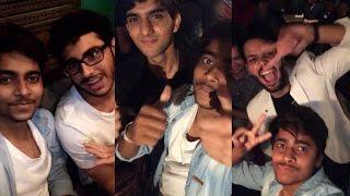 Met CarryMinati, NAZAR BATTU, Rishabh RAI, Love Rudraksh , AVR pranktv, Crazy Sumit