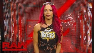 Sasha Banks opens up about her back injury on Raw Pre-Show, on WWE Network