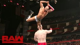 Cesaro vs. Sheamus - Match Two of a Best-of-Seven Series: Raw, Aug. 29, 2016