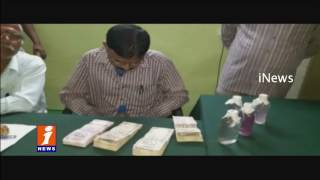 ACB Caught Red handed Doulthabad Tahsildar Ravinder Reddy Accepting Bribe | iNews