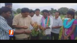 Palle Raghunatha Reddy Inspects Rain Guns in Agriculture | Anantapur | iNews