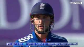 Alex Hales 171 Batting Highlights - England vs Pakistan 3rd ODI 2016